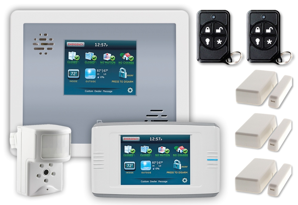 affordable wireless home security burglar alarm package pltnmpckkf1 accessories. Black Bedroom Furniture Sets. Home Design Ideas