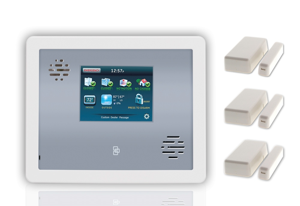 Home Monitoring System : Alarm home monitoring security sistems