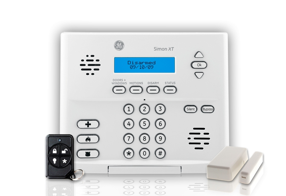 Wireless security system monitoring